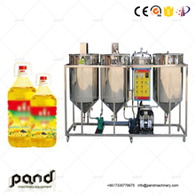 Cotton seed crude oil refining machine/refinery plant/cotton oil fractionation machine