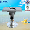 Adjustable Height Locking Aluminum Boat Seat Pedestal