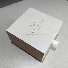 For custom printing gift and jewelry box for paper cardboard storage with drawer