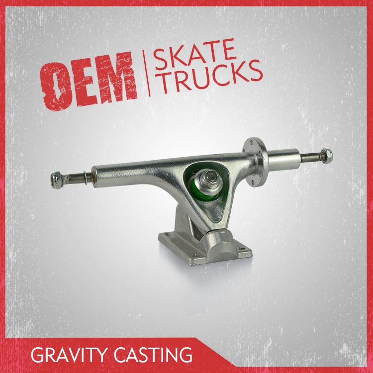 High quality electric truck made by gravity casting technology, electric board truck produced by leading factory in China