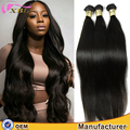 Can be curled well straight raw unprocessed virgin Peruvian human hair