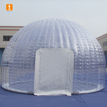 Custom inflatable transparent bubble tent arch model