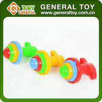 Plastic Colorful Flashing Spining Top Toy