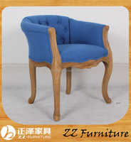 2016 new design french oak wood chair antique home furniture