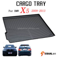 For BMW X5 2009-2013 trunk mat water proof trunk tray 3D cargo mat