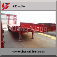 Lowbed Truck Trailer For Heavy Duty