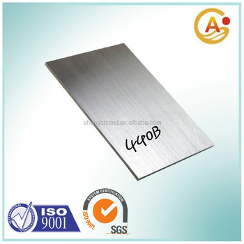 High Carbon Chromium Stainless Steel Plates 440B