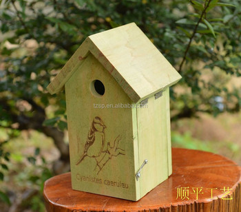 wooden cheap bird house