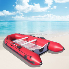 NB-AB-270-004 NingBang cheap red inflatable rubber boat for sailing
