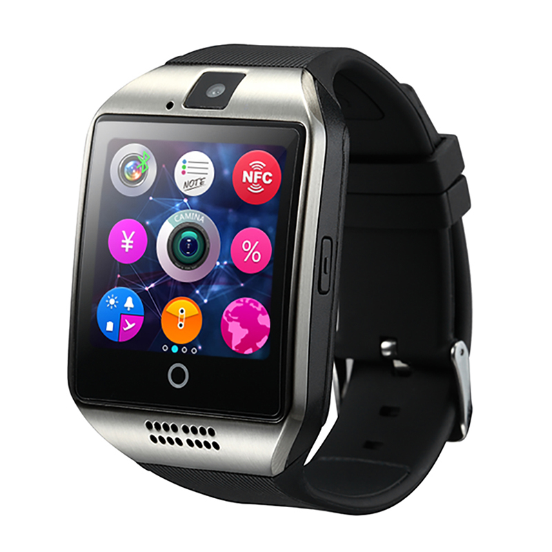 NFC GSM Sim Card Q18 Android Smart Watch Music Playing Phone Calls Reminding Q18 Smart Watch