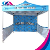 3x3 trade show portable canopy tent for outdoor event