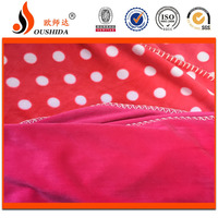 2016 100% polyester colorful super soft velboa print fabric