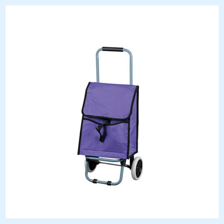 high quality portable folding shopping trolley bag