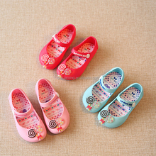 Wholesale Candy Children Sandal Shoes Baby Jelly Sandals