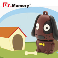 Dr.memory Cartoon dog pendrive Thumb usb flash drive U Disk Flash Disk 2gb 4gb 8gb 16gb 32gb 64gb usb flash menory drive