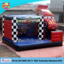 Factory price Car inflatable jumper/ commercial bouncy castles