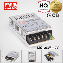 25w small size power supply/12 volt 2 amp led driver smps/25w 12v ac dc switching power supply ms-25-12