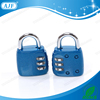 AJF High quanltiy Fashion fitness club blue digital padlock combination