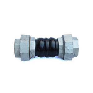 EPDM Screwed Twin Sphere Rubber Flexible Joint with Metal Reinforcement