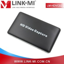 LINK-MI LM-HDVC02 1080p HDMI Video game capture via USB save live streaming hdmi video capture device hdmi card capture