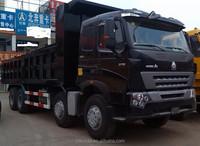 SINOTRUK 6 x 4 tipper truck 375 horsepower for sale/howo -A7