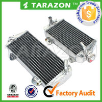 Aftermarket dirt offroad bike aluminium motorcycle radiator spare parts