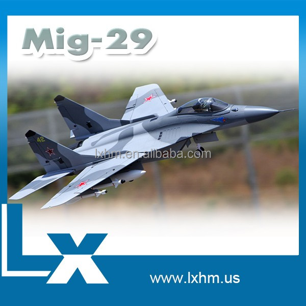 Mig-29 large scale rc 3d model airplanes
