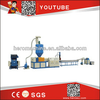 CE Standard Waste Plastic Film Recycling Machine