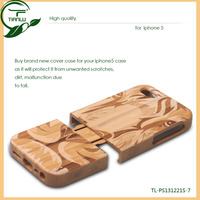 Quality OEM Case For iphone 5/Recycled Phone Case For iphone 5s/Recycled phone case with RPET for iphone 5s wood case real wood