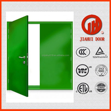 China steel security door factory