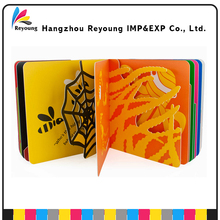 High Quality Hardcover Book Kid Activity 3D Coloring Pop-up Book printing