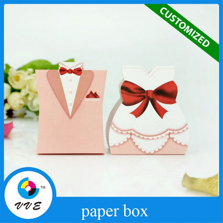 Custom Dragee Packaging Ring Design Wedding Favors Box For Wedding Invitations