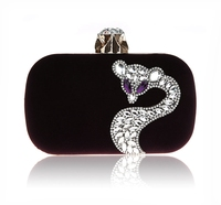 Fashionable Style Lady's Shiny crystal evening purses