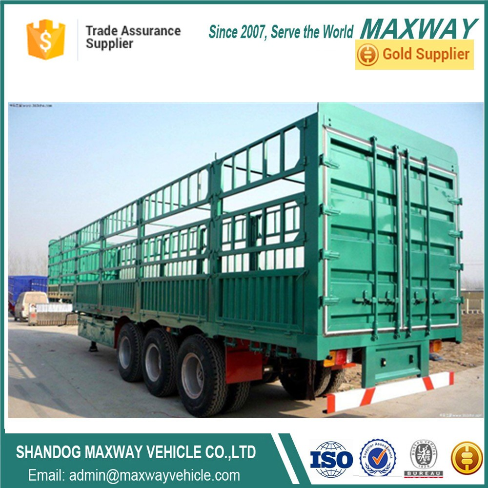 Cargo fence stake semi trailer for sale