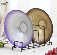 Handmade high quality Wholesale charger glass plate