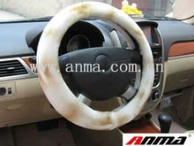 new girly sheepskin Steering Wheel Cover