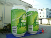 air sealed inflatable water bottle shape, inflatable product model