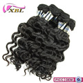 100% European 30 Inch Remy Virgin Human Hair Weft Bulk Products From China