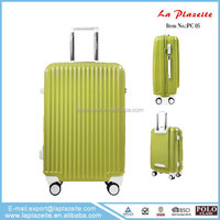 Free printable luggage template, standard size pvc luggage, hottest bulk leather luggages