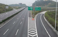 Thermoplastic Reflective Road Marking Paint Coating For Traffic Signs
