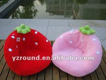 baby cute kids baby red and pink straberry sofa chair