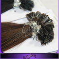 Acceptable price cheap soft remy u tip hair extension wholesale in Alibaba