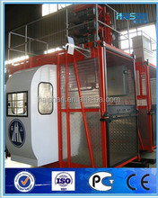 SC100--1000kg double cage CE approved construction lifter for goods and passenger