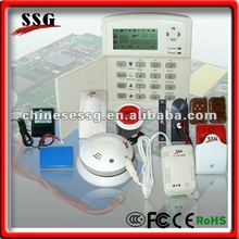 Alibaba Most Advanced Wireless/Wired PSTN Home Alarm System with Auto Dialer