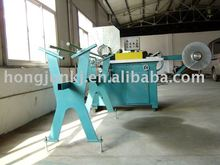 Spiral flexible aluminum foil duct machine
