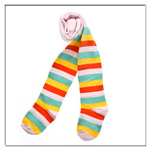 child's stripe pantyhose