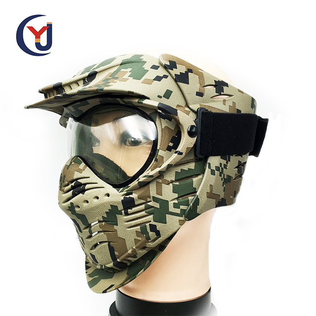Hot sale full face customized logo military tactical shooting training paintball mask