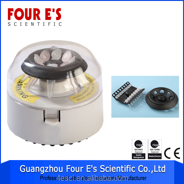 low speed biological laboratory equipment portable micro centrifuge for PCR plate