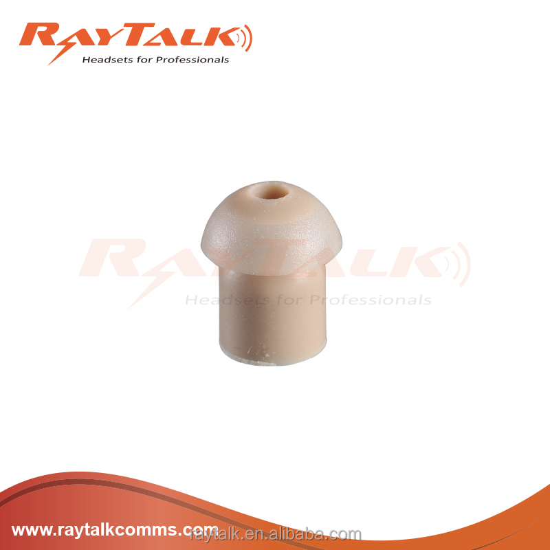 RayTalk Two way radio accessories Silicone ear tip spare parts for acoustic tube earpiece