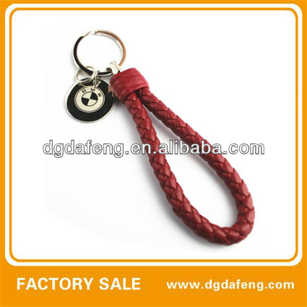 BMW logo nylon key chain